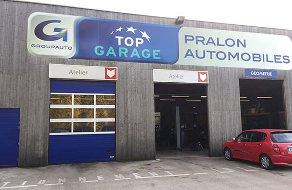 Logo Pralon Automobile